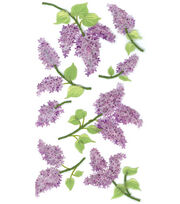 Jolee's Boutique Le Grande Dimensional Sticker-Lovely Lilacs, , hi-res