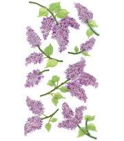 Jolee's Boutique Le Grande Dimensional Sticker-Lovely Lilacs, , hi-res