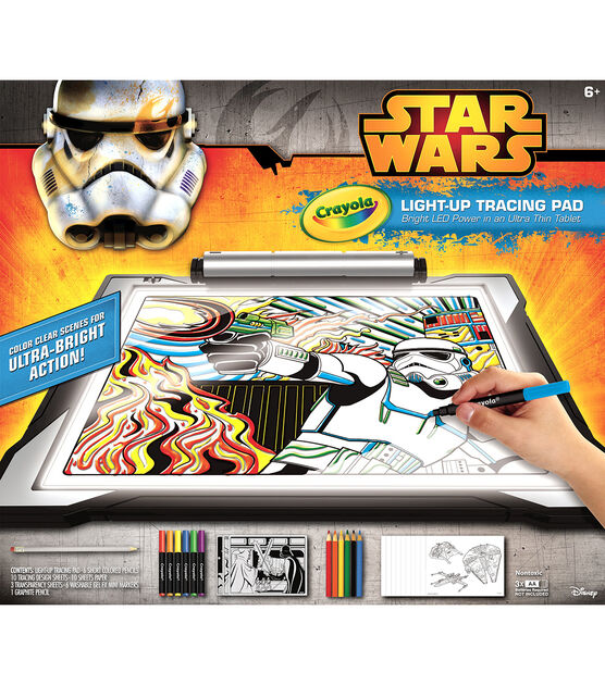 Crayola Light Up Tracing Pad Star Wars Joann