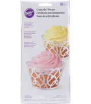 Wilton Cupcake Wrap Pink Party, , hi-res