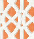 Upholstery Fabric 54\u0022-Pinetto Mandarin