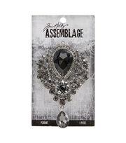 Tim Holtz Assemblage Pendant-Crystal Elegance, , hi-res