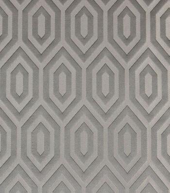 "Richloom Studio Lightweight Decor Fabric 55""-Hernando Pewter"