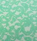 Casa Collection Lace Fabric 55\u0022-Floral Scroll Brook