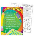 Reasons to Write Learning Chart 17\u0022x22\u0022 6pk