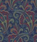 Waverly Upholstery Fabric 55\u0022-Tamsin/Jewel