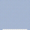 Keepsake Calico Cotton Fabric-Tiny Gingham Star Blue