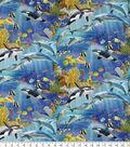 Novelty Cotton Fabric 44\u0027\u0027-Wonders of The Ocean