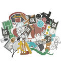 Kaisercraft Game On! Collectables Cardstock Die-Cuts-Equipment