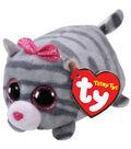 Ty Teeny Tys Cassie Cat-Gray