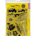 Waffle Flower Crafts Clear Stamp 5\u0022X7\u0022-Carnations