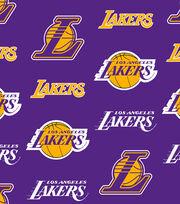 LA Lakers Fleece Fabric -Tossed, , hi-res