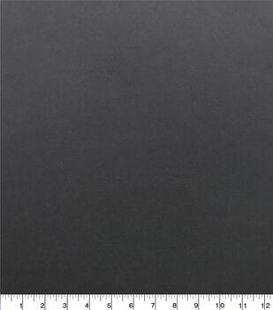 Silky Solids Stretch Chiffon Fabric-Black