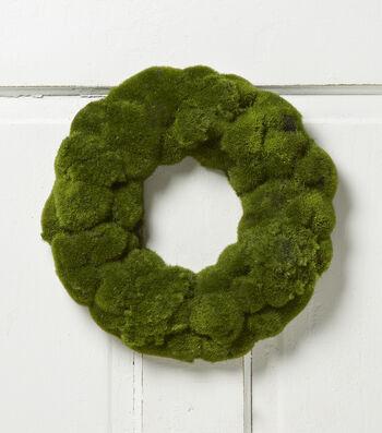 """Bloom Room 12"""" Moss Wreath"""