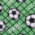 Blizzard Fleece Fabric-All Over Soccer