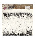 Studio Light Winter Days 6\u0027\u0027x6\u0027\u0027 Background Stamp