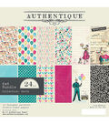 Authentique Party 24-sheets 6\u0027\u0027x6\u0027\u0027 Double-sided Cardstock Pad