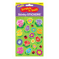 Friendly Flowers-Floral Mixed Shapes Stinky Stickers 6 Packs