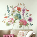 York Wallcoverings Wall Decals-Lisa Audit Garden Flowers