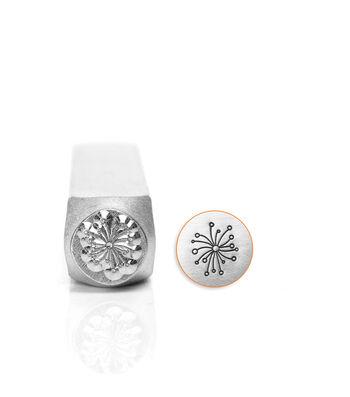 Design Stamps 1/Pkg-Dandelion 6mm