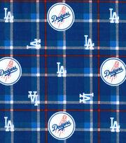 LA Dodgers Flannel Fabric-Plaid, , hi-res