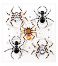Jolee\u0027s Boutique 6 pk Dimensional Stickers-Beaded Spiders