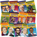 Gallopade Presidents, Inventors & Explorers Biography FunBook, Set of 13