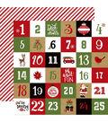 Celebrate Christmas Double-Sided Cardstock 12\u0022X12\u0022-Christmas Countdown