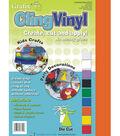 Cling Vinyl 9\u0022X12\u0022 Sheets