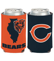 Chicago Bears Can Cooler State, , hi-res