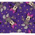 Disney Minnie Mouse Halloween Fleece Fabric-Fun