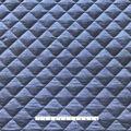 Sportswear Quilted Knit Fabric-Dark Indigo