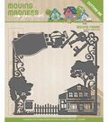 Find It Trading Yvonne Creations Moving Madness Cutting Die-Moving Frame