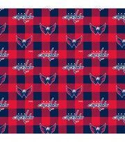 Washington Capitals Fleece Fabric-Buffalo Plaid, , hi-res