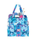 Mary Maxim Quilted Large Tote Bag-Watercolor