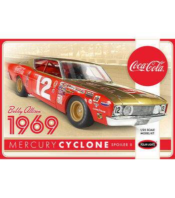 Polar Lights Coca Cola Bobby Allison 1969 Model Car Kit