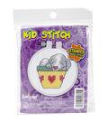 Janlynn Kid Stitch Stamped Cross Stitch Kit-Sleeping Puppy