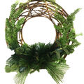 Handmade Holiday Christmas 17\u0027\u0027 Primitive Vine & Greenery Wreath