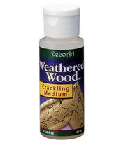 DecoArt Americana 2 fl. oz. Weathered Wood Crackling Medium, , hi-res