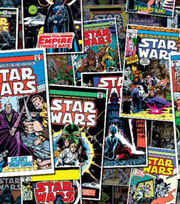 Star Wars Cotton Fabric 44''-Comic Book Covers, , hi-res