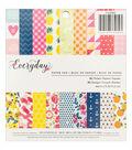 Pebbles Jen Hadfield Everyday 36 Pack 6\u0027\u0027x6\u0027\u0027 Single-Sided Paper Pad