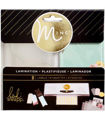 """Heidi Swapp Minc Lamination Labels 3.5""""X2.5"""" 8/Pkg-Color"""
