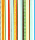 Nursery Cotton Fabric 43\u0022-Zoo Stripe