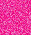 Basics Patterned Cardstock 12\u0022X12\u0022-Dark Pink Flower