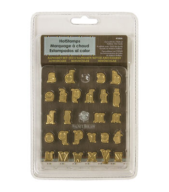 Walnut Hollow HotStamps Alphabet Set Lowercase