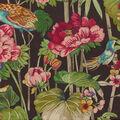 Waverly Upholstery Fabric 13x13\u0022 Swatch-Peace Garden Onyx