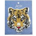 Fab Lab 4.87\u0027\u0027x3.87\u0027\u0027 Tiger Iron-on Applique Patch