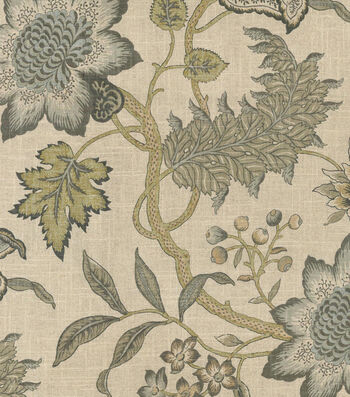 "Waverly Multi-Purpose Decor Fabric 54""-Jacobean Flair Vermeil"