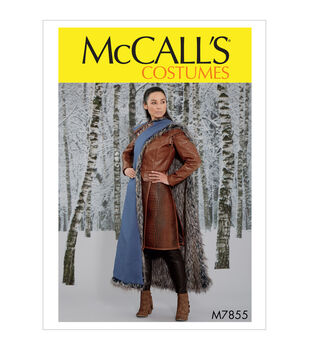 McCall's Pattern M7855 Misses' Costume-Size 6-8-10-12-14