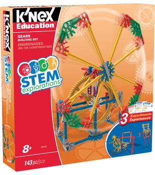 K'NEX Education STEM Explorations Gears Building Set